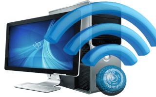 Подключение ПК к интернету через вай фай