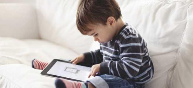 Как установить детский режим на планшете