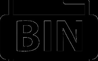 Формат BIN чем открыть на андроиде