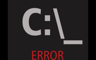 Способы устранения ошибки запуска cmd.exe