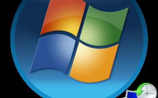 Как провести восстановление системы windows 7