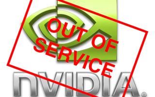 Не загружается драйвер Nvidia Geforce Experience