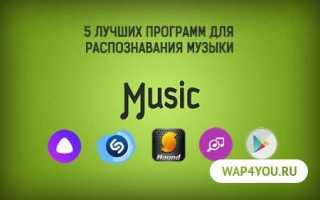 Как называется приложение которое определяет название песни