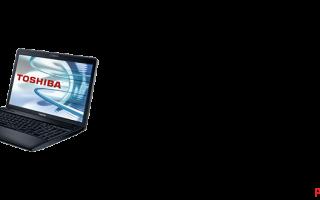 Варианты установки драйверов на ноутбук Toshiba Satellite C660