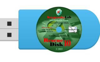 Создание загрузочной флешки с Kaspersky Rescue Disk 10