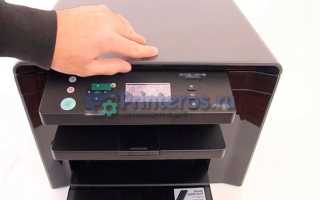 Принтер печатает но не сканирует что делать