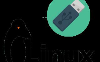 Полноценная установка Linux на Flash-накопитель