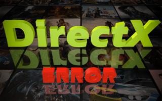 DirectX сбой установки что делать