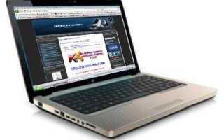 Скачивание драйверов для ноутбуков HP G62