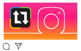 Как сделать репост записи в Instagram