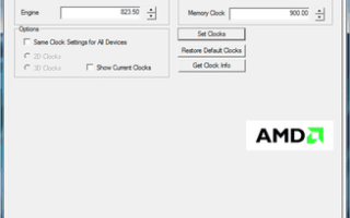 AMD GPU Clock Tool 0.10.6.0