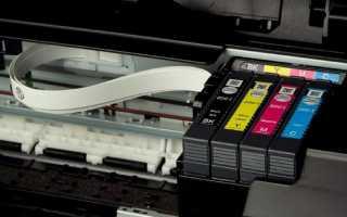 Полосит принтер epson с снпч