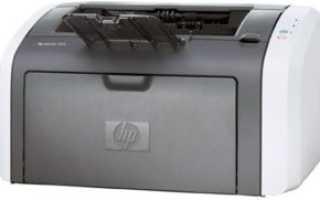 Установка драйвера для HP LaserJet 1015