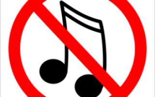 Почему не прослушивается музыка в интернете