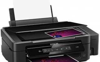 Как подключить принтер эпсон l355 по wifi