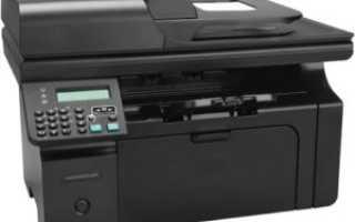 Установка драйвера для HP LaserJet Pro M1212nf